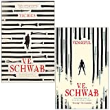 V. E Schwab Villains Series 2 Books Collection Set (Vicious, Vengeful)