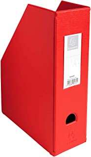 Exacompta 90165E - Revistero, color rojo