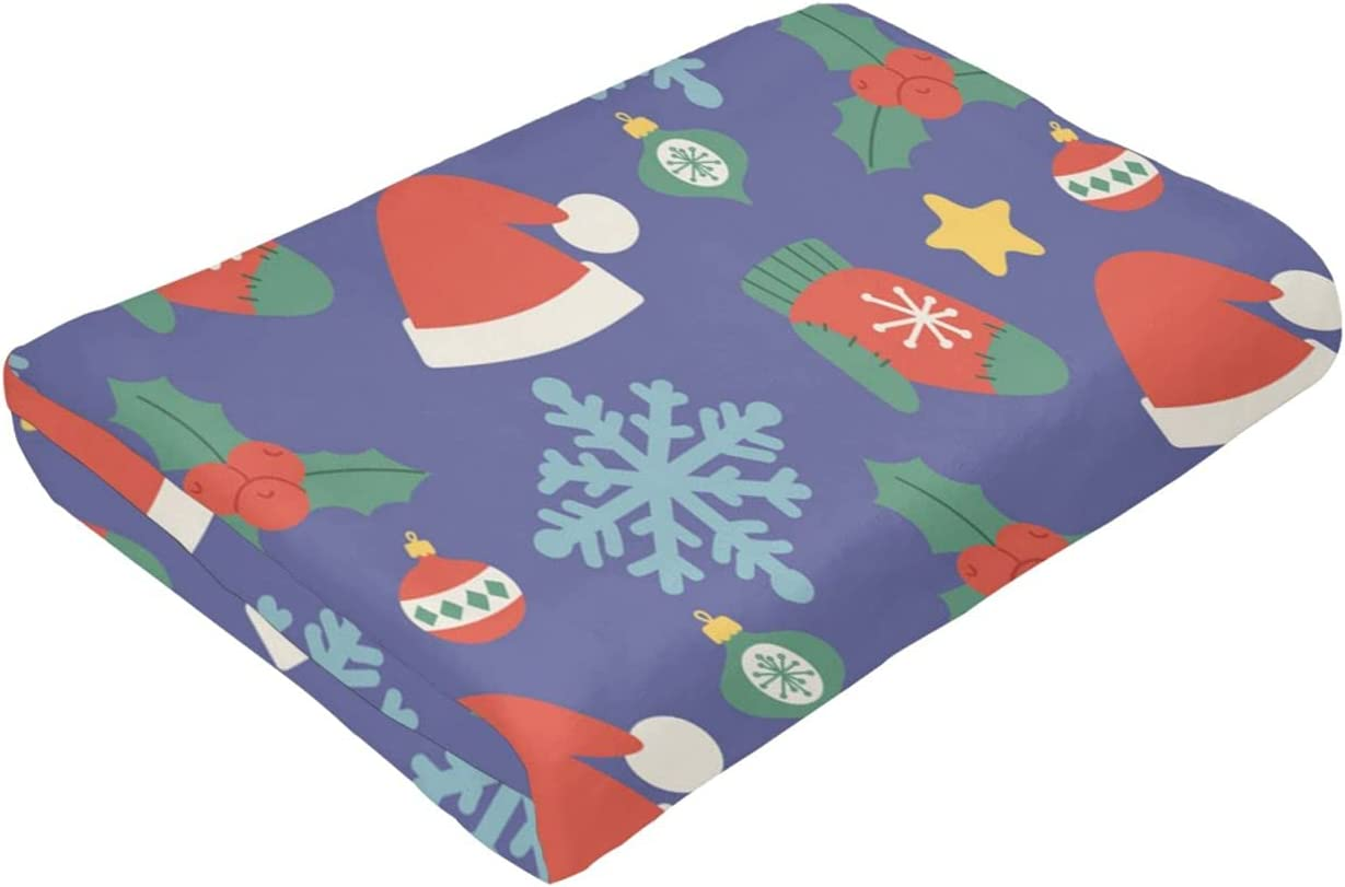 Christmas Hats Discount mail 5 popular order Ultra-Soft Micro Fleece Suitable for Blanket Bed