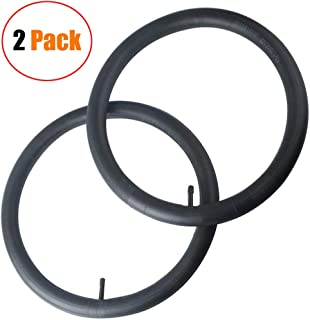 2 Pack 16''x 1.95/2.15 Premium Quality Butyl Rubber Inner Tubes Replacement for BoB Revolution Strollers SE,Pro,Flex,SU,Strides Series, Ironman Strollers, Perfect Bob Stroller Tire Tube Replacement