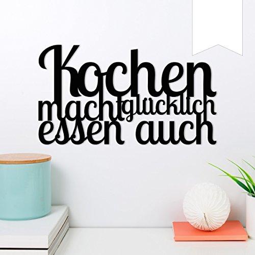 WANDKINGS Wandworte aus Holz - Wähle Ein Motiv & Farbe...