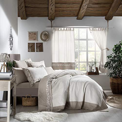 Stanley Hamilton Hisar Cottage Collection sängöverkast/sängkläder set, täcke, täcke med örngott (enkelsäng/dubbelsäng/King och Super King)