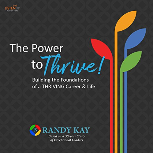 The Power to Thrive! audiobook cover art