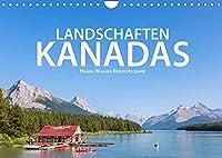 Landschaften Kanadas (Wandkalender 2022 DIN A4 quer): Hanna Wagner zeigt Impressionen aus den kanadischen Provinzen British Columbia, Alberta und Ontario. (Monatskalender, 14 Seiten )