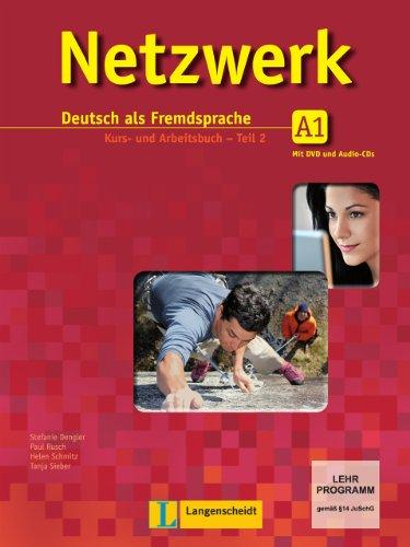 Netzwerk A1 Libro de alumno y libro de ejercicios, tomo 2 con 2 CD de audio y DVD (Texto) (German Edition)