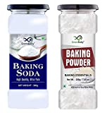 GreenFinity Baking Soda, 300g & Baking Powder, 200g | 100% Hygine (Can Pack)