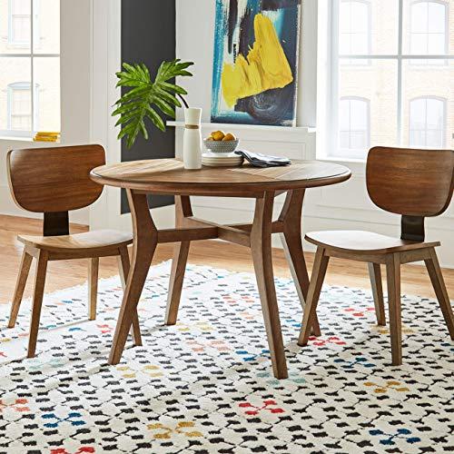 Marca de Amazon - Movian Vit, alfombra rectangular, 180,3 de largo x 1