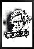 Poster Beethoven Superstar Deutscher Komponist und Pianist