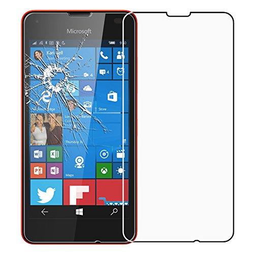 ebestStar - kompatibel mit Microsoft Lumia 550 Panzerglas Schutzfolie Glas, Schutzglas Bildschirmschutz, Bildschirmschutzfolie 9H gehärtes Glas [Lumia 550: 136.1 x 67.8 x 9.9mm, 4.7'']