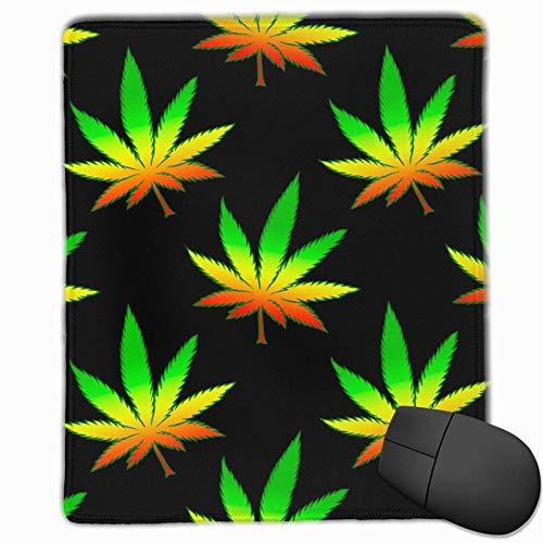Alfombrilla de ratón Marijuana Weed Game Alfombrilla de ratón Antideslizante Alfombrilla de cursor Impermeable y Bonitos y exquisitos Accesorios de Escritorio (25x30cm)