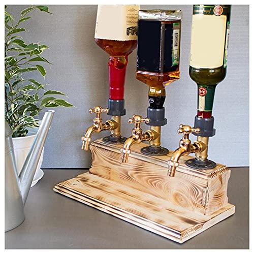 Bomoya Dispensador de madera para bebidas y bebidas para el día del padre