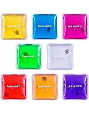 Handwarmers set van 8 multicolor - vierkant - handwarmer verwarmingspad warmtepad Firebag