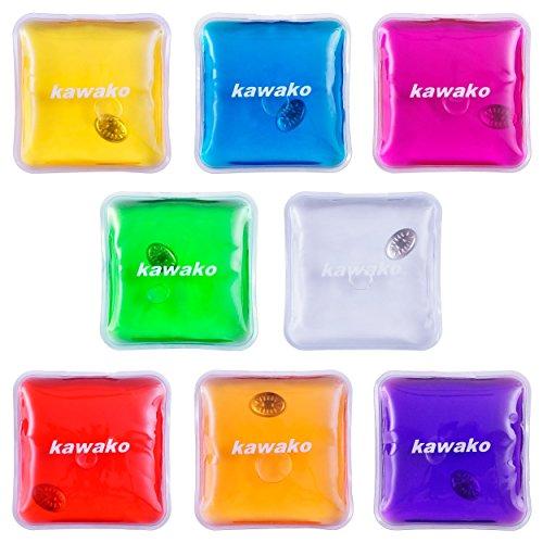 Taschenwärmer 8er Set Multicolor - Quadrat - Handwärmer Heizpad Wärmepad Firebag