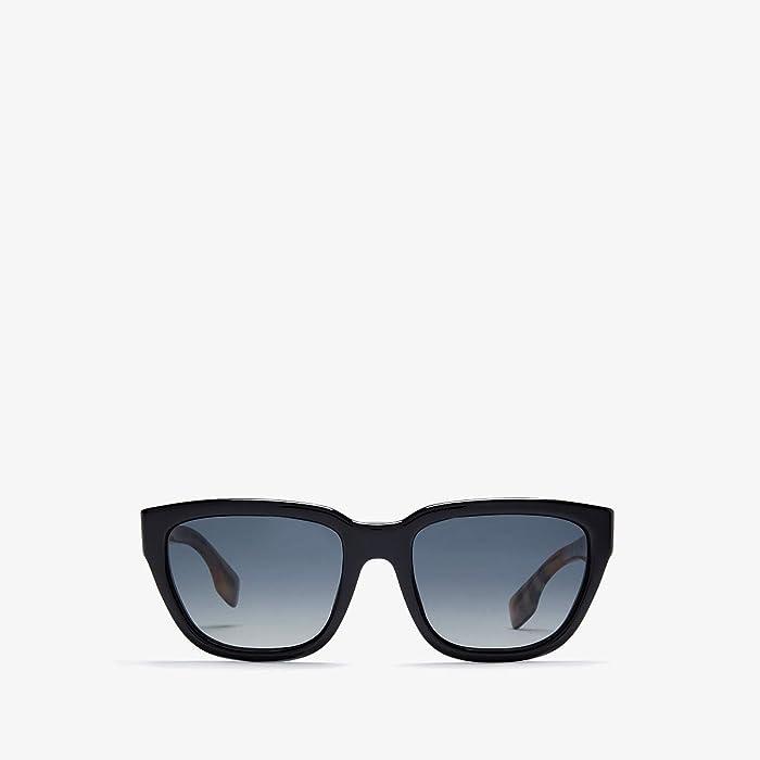 Burberry  0BE4277 (Black/Polar Grey Gradient) Fashion Sunglasses