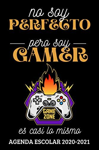 No soy perfecto pero soy Gamer: Agenda Escolar Semana Vista Septiembre...