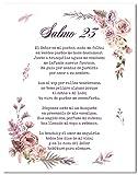 Salmo 23 En Espanol Wall Decor - Psalm 23 Cuadro - Christian Wall Decor In Spanish - 8x10 - Unframed