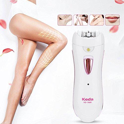 Elektrische Haarentfernung Epilierer, Frauen Rasierer Lady Rasur Gerät schmerzlos Haarentfernung Pilator für Gesicht Arme Bikini Bein