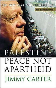 Paperback Palestine Peace Not Apartheid Book