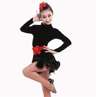 ドレスプリンセスコスチューム 女の子チュチュバレエレオタードダンスドレスバレリーナ妖精の衣装 肌にやさしい通気性 (色 : ブラック, サイズ : 6XL)