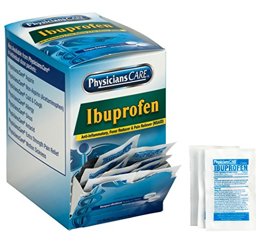 PhysiciansCare Ibuprofen, 125 Doses of 2 Tablets, 200 mg