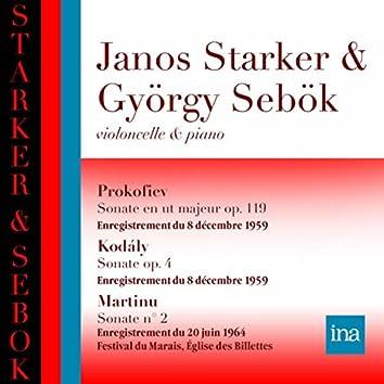 Prokofiev - Kodaly - Martinu