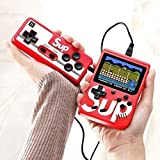 Skyshop®Retro SUP Handheld Game Box Console 400 Classic Games, 3 Inch Screen Support