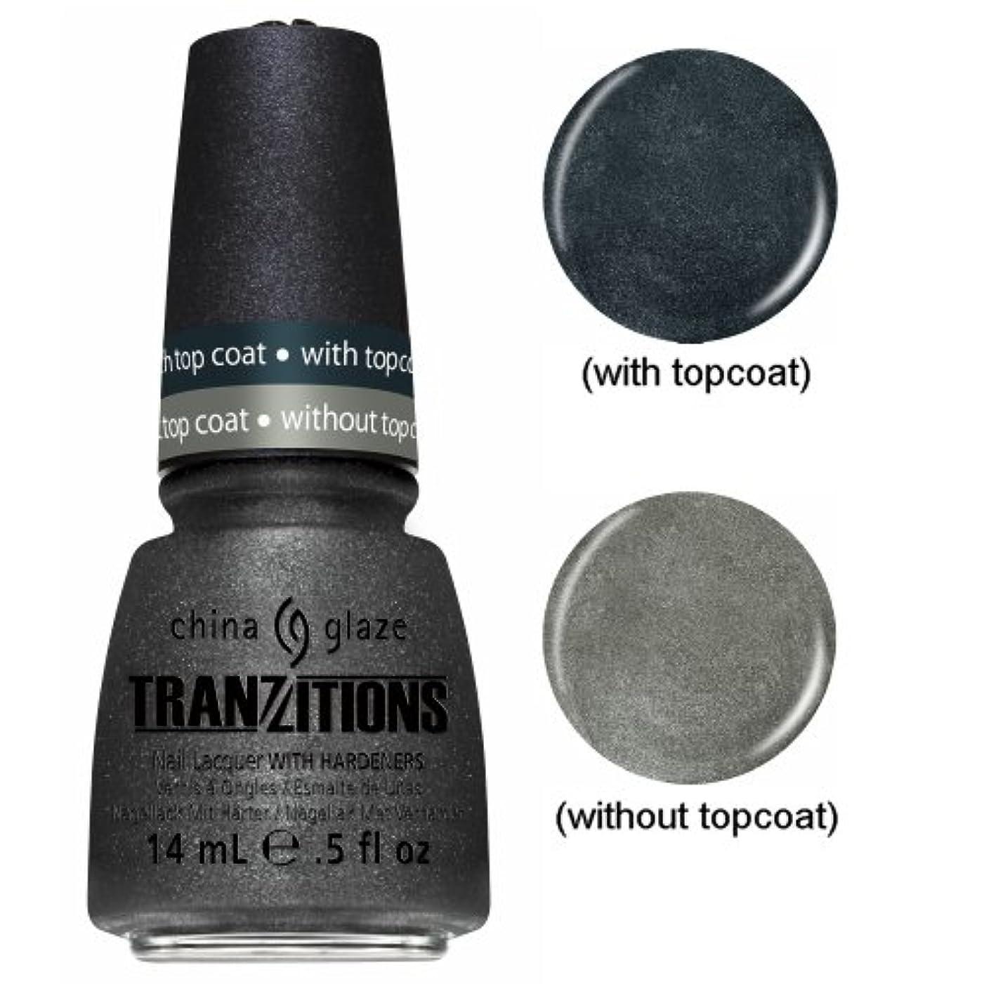 リラックスしたピュー教育CHINA GLAZE Nail Lacquer - Tranzitions - Metallic Metamorphosis (並行輸入品)