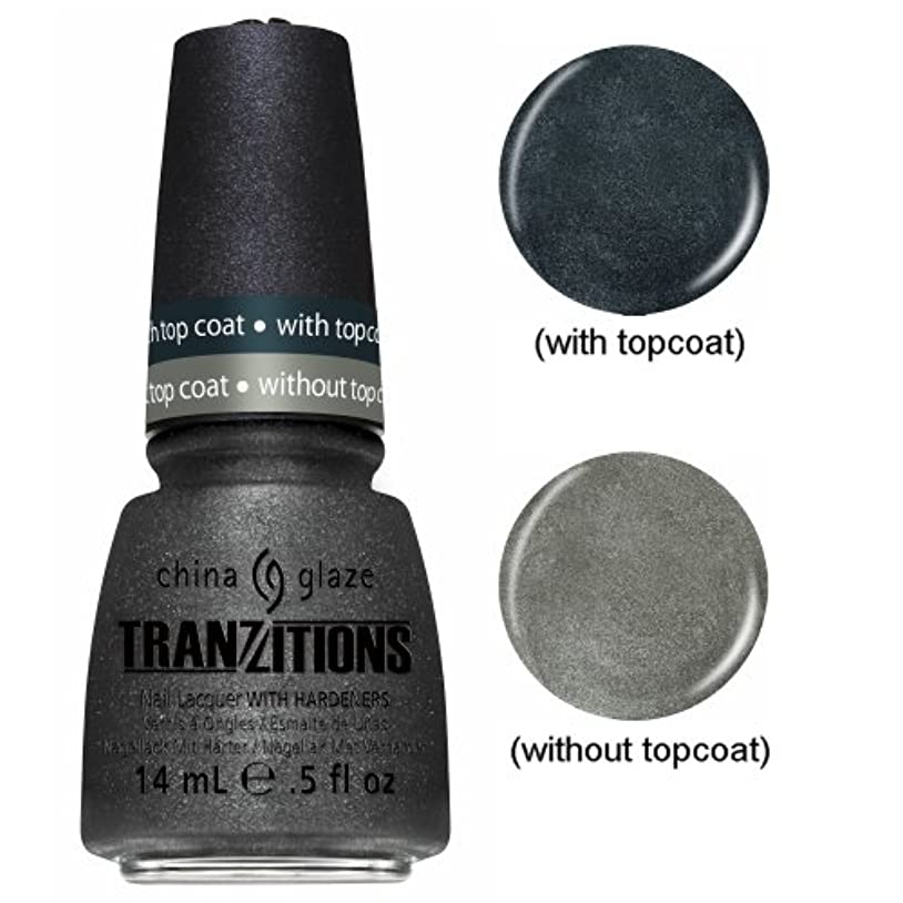 キャベツ計画的爆弾CHINA GLAZE Nail Lacquer - Tranzitions - Metallic Metamorphosis (並行輸入品)
