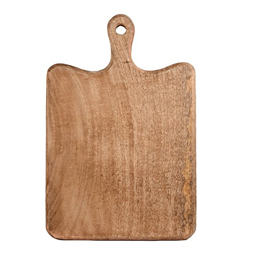 The Hue Cottage Planche à découper en bois fabriqué à la main Marron accessoire de cuisine indienne Home Decor