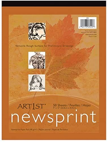 ART1ST NEWSPRINT PAD 18X24 50 SHT by EDR