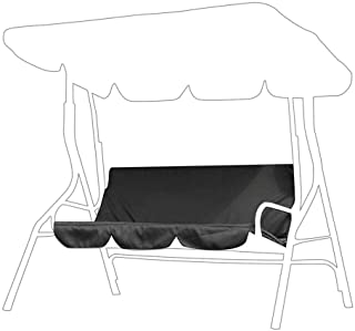 AMONIDA Swing Seat Cover,Three Seaters Patio Swing Cushion Cover Replacement,for Patio, Courtyard, Garden,Waterproof Dustp...
