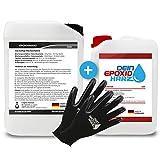 Longfair Chemicals - Resina Epoxi con Endurecedor + Guantes de Protección,...