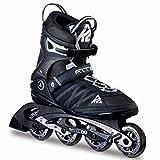 K2 Herren Inline Skates F.I.T. 80 - Schwarz-Grau - EU: 40 (US: 7.5 - UK: 6.5) - 30A0003.1.1.075