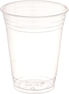 SOLO Cup Company Plastic Party Cold Cups, 16 oz, Clear, 1000 Cups
