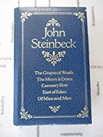 John Steinbeck: The Grapes of Wrath-The Moon is Down-Cannery Row-East of Eden-Of Mice and Men 0905712706 Book Cover