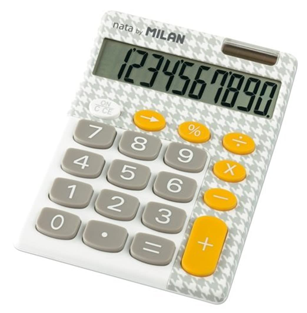 ラッシュ逃れるはっきりしないMILAN カリキュレーター 10桁電卓 150610EGBL