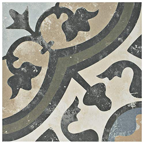 SomerTile FCD10EVC FPESAJB Murcia Ceramic Floor and Wall Tile, 13
