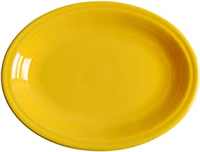 "product image for Homer Laughlin 11-5/8"" Medium Oval Platter, Daffodil"