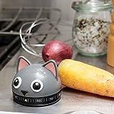Katze Eieruhr - Kätzchen Küchentimer Kurzzeitmesser Kochen Kurzzeitwecker