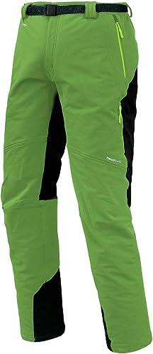 Trangoworld pc007744 6yt-m Pantalon Long, Homme, Vert gris (Ombre Foncé), M