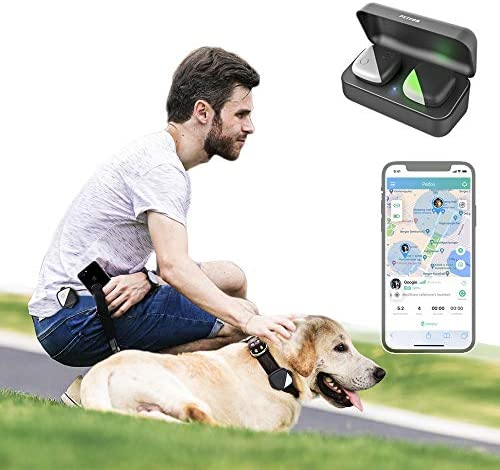 PETFON Dog GPS Pet Tracker No Monthly Fee Real Time Tracking Collar Device APP Control Only product image