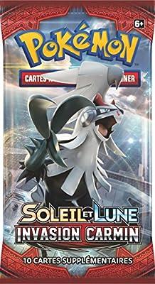 Asmodee - Booster Pokémon Soleil et Lune Invasion Carmin (Version Française)
