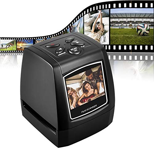 DIGITNOW! Slide Scanner Convert 35mm Negative Film &Slide to Digital JPEG Save into SD Card with LCD...