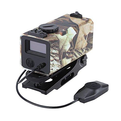 MUJING 700m Mini Tactical Outdoor Jagd Entfernungsmesser Zielfernrohr Visier Ziel Zielfernrohr Mate Entfernungsmesser mit Schiene