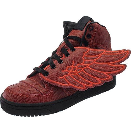 Adidas JS Wings BBall S77803 Herren Sneaker / Freizeitschuhe / Basketballboots Rot 38 2/3