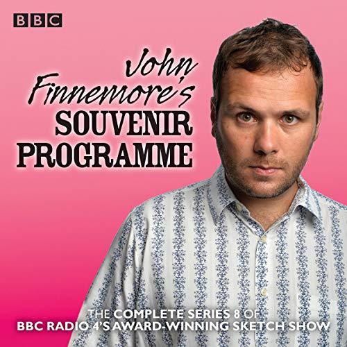 John Finnemore's Souvenir Programme: Series 8 audiobook cover art