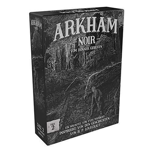 Asmodee Arkham Noir - Fall 2: Vom Donner gerufen, Kennerspiel, Kartenspiel, Deutsch