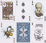 Ohne Markenzeichen OEFHEIOWJO Tamaño Jugar Poker Tarjetas estándar de edición Limitada Nueva Cubierta sellada de Cartas de Magic Trucos mágicos Puntales