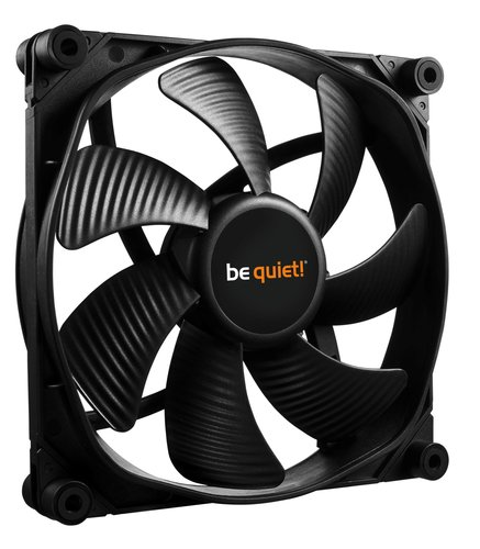 Chemagliette. Be Quiet! - Ventilador de caja Silent Wings 3 PWM High Speed 140 mm, 1600 RPM, Modular