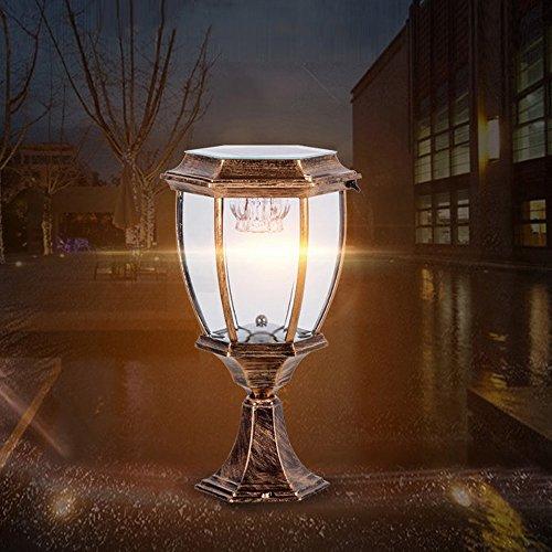 Modeen Continental Victoria Solar LED Lámpara de mesa de vi